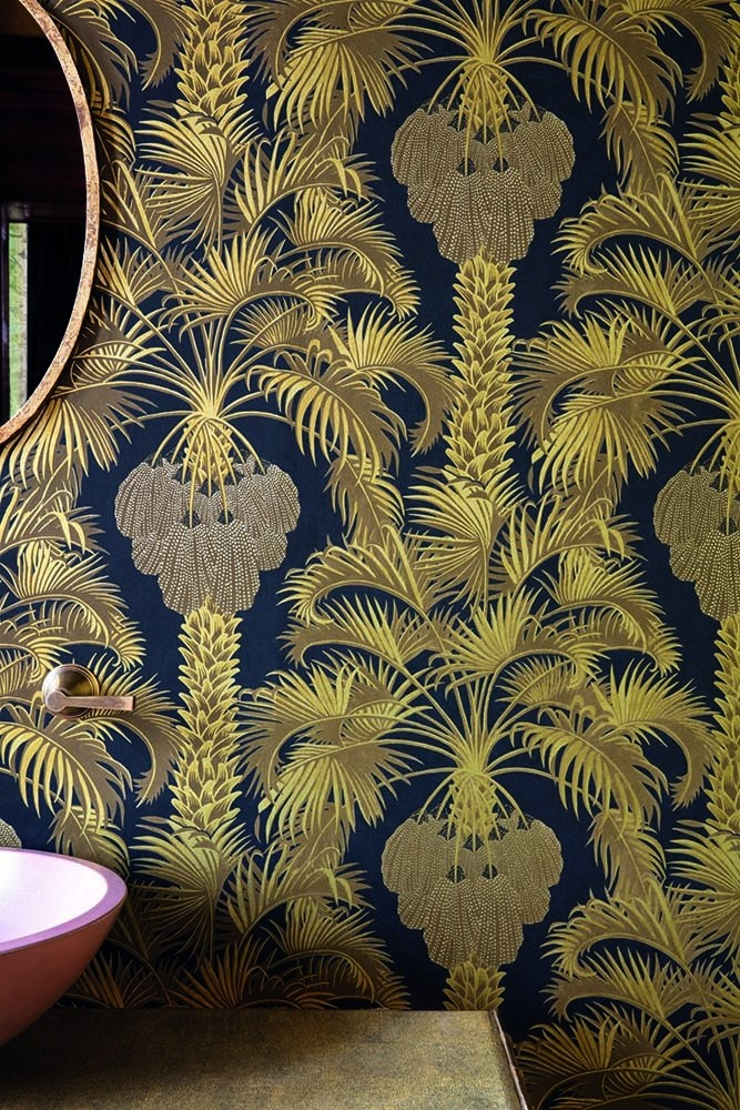 Cole and Son Martyn Lawrence Bullard Collection - Hollywood Palm Wallpaper