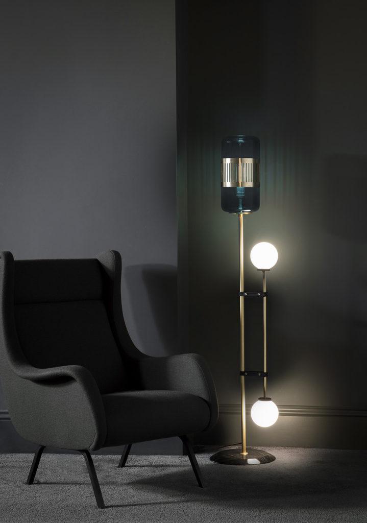 Bert Frank Lizak Floor Lamp