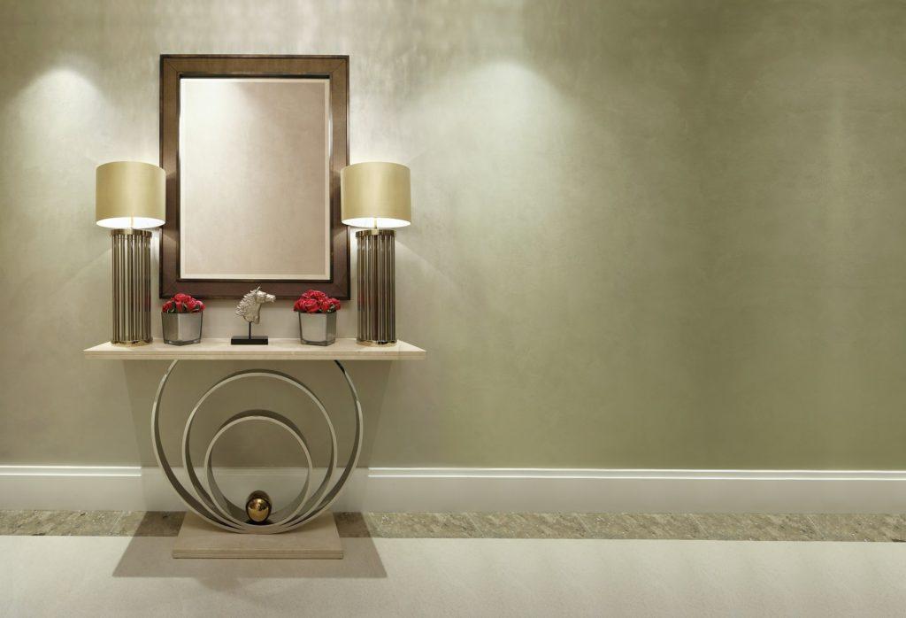 decorum furniture lamps and mirror