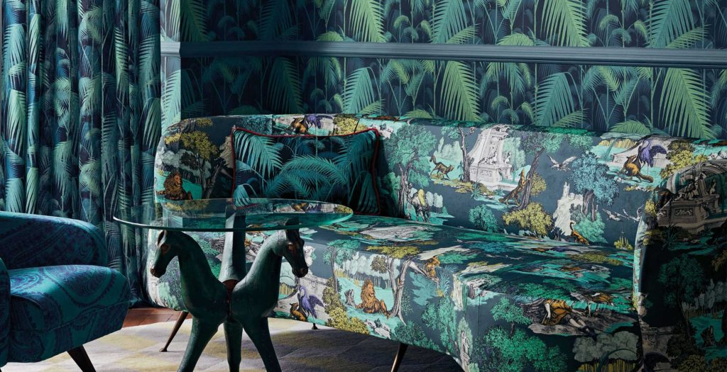 Cole & Son Versailles Grand Palm Jungle
