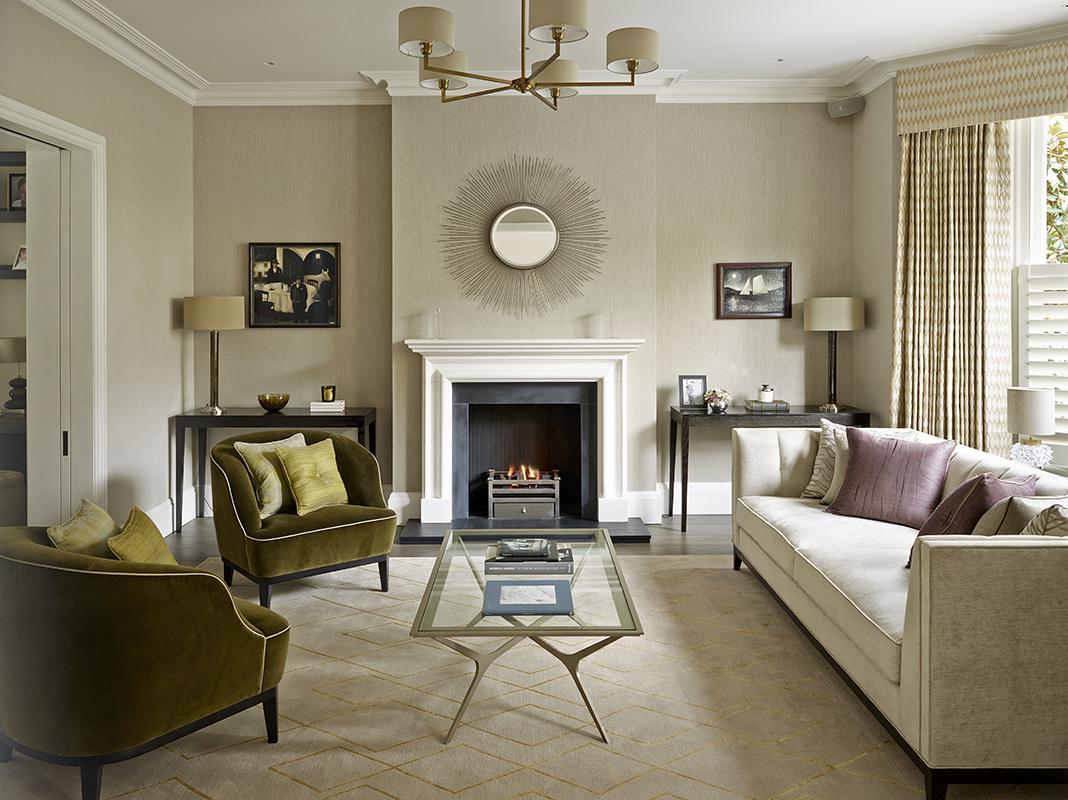 classic lounge setting