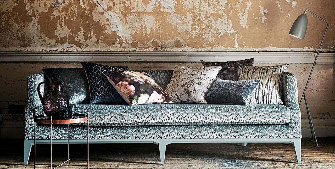 Stunning feature sofa