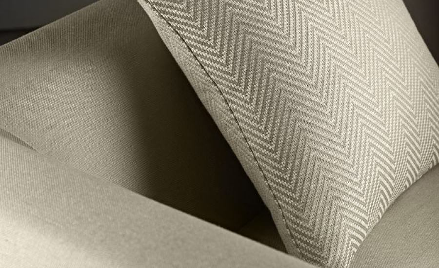 chevron style cushion