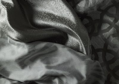 shimmering fabric